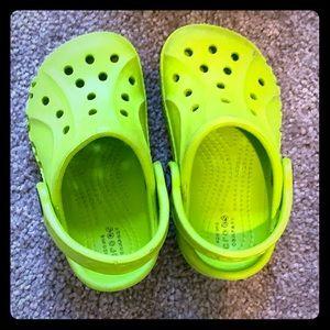 Child crocs size size 6